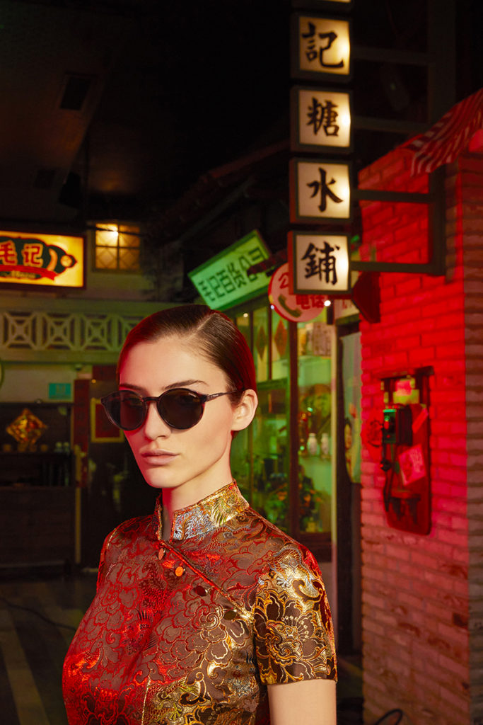 Polaroid eyewear - photographer Marco Cella - hair Francesco Avolio - WM-Artist Management - W-MManagement - Milano