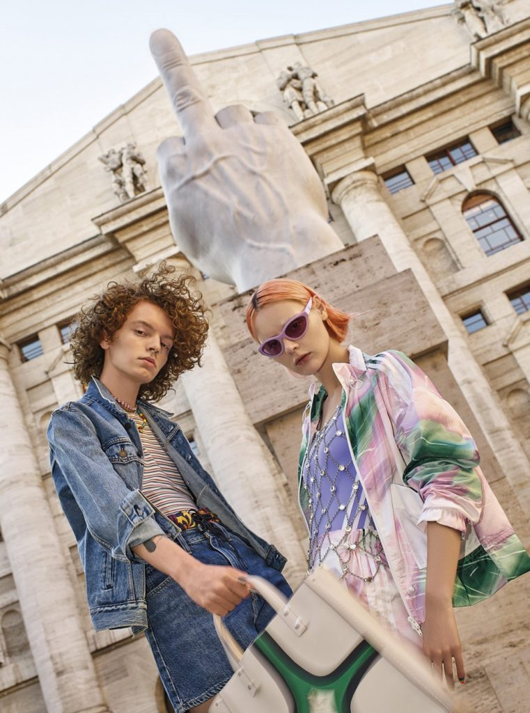 vanity fair - photographer Alberto Zanetti - styling Gaia Fraschini - hair Liv Holst - WM-Artist Management