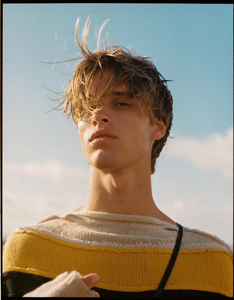 Gq portugal - photographer Joaquin Burgueño - styling Cara Cano - hair Daniel Manzin - WM-Artist Management - W-MManagement - Milano - Agency
