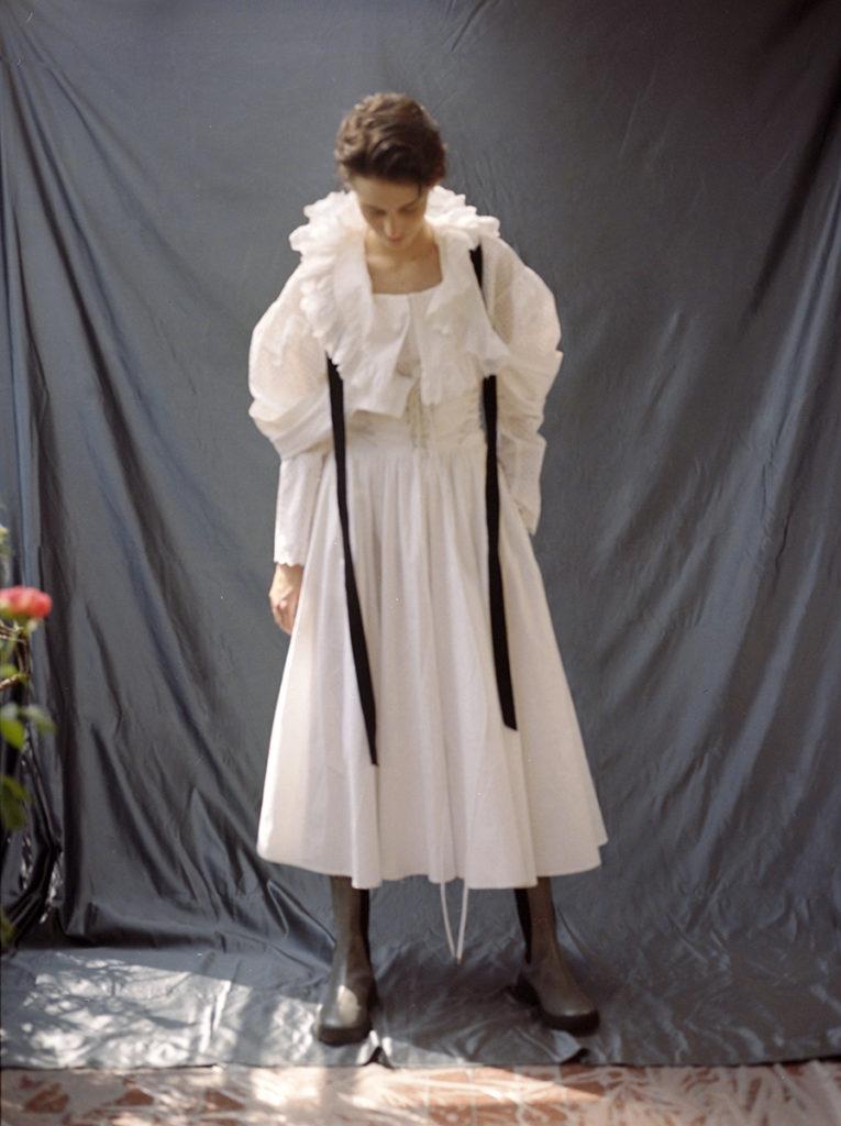 margherita Roversi - portraits - personal work - photographer Letizia Ragno - hair Liv Holst - styling Nadia Bonalumi - WM-Artist Mnagement