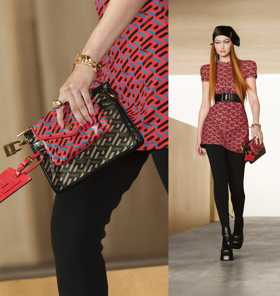 Versace - fw22 - gigi hadid - manicure Carlotta Saettone - WM-Artist Management - W-MManagement - milano