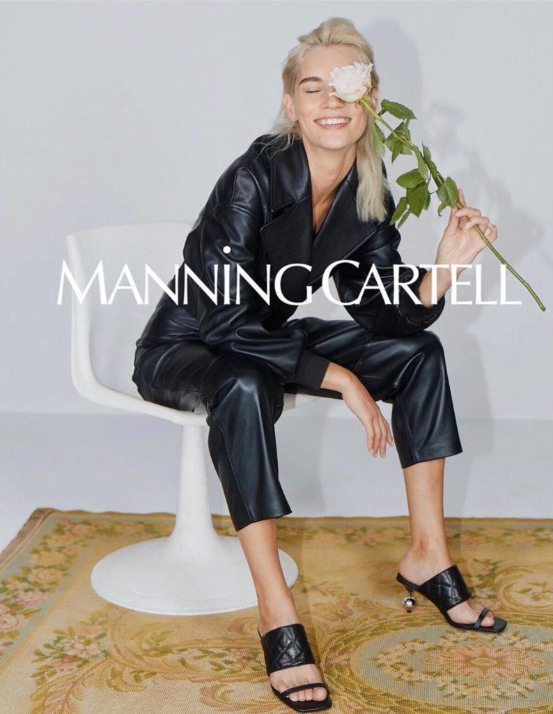 Manning cartell - ss20 - photographer Adrian Price - styling Gemma keil - hair Rory Rice - wm-artist Management - w-mmanagement