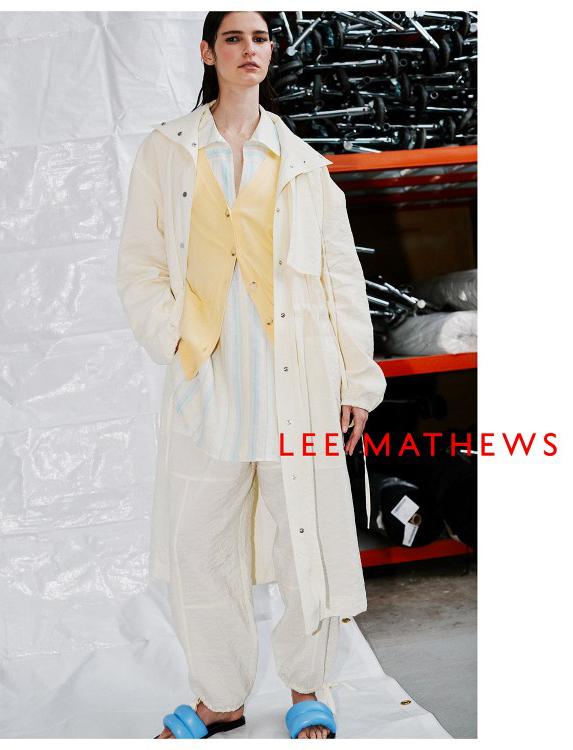 Lee mathews - photographer Ben Morris - styling Vanessa Coyle - hair Rory Rice - wm-artist Mnagement - w-mmanagement - milano