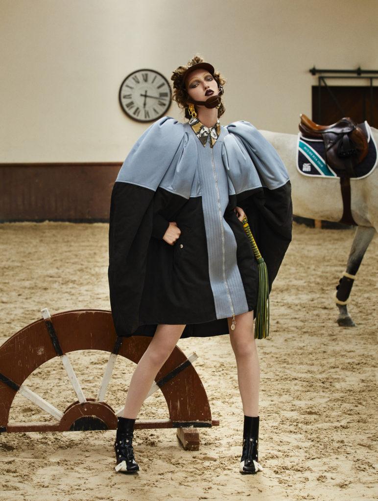 l'officiel italia - photographer Paolo musa - styling Giulio Martinelli - hair Daniel Manzini - wm-artist management - Milano