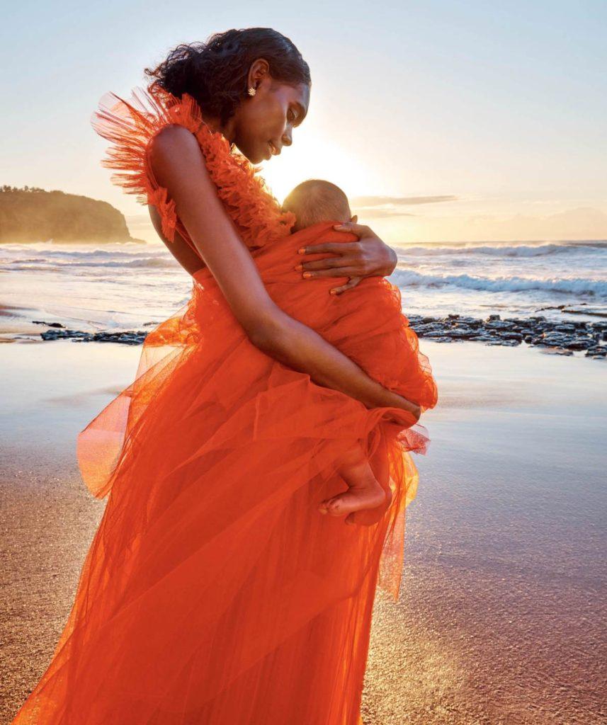 Vogue Australia - photographer Charles Dennington - styling Kaila Matthews - hair Rory Rice - WM-Artist Management