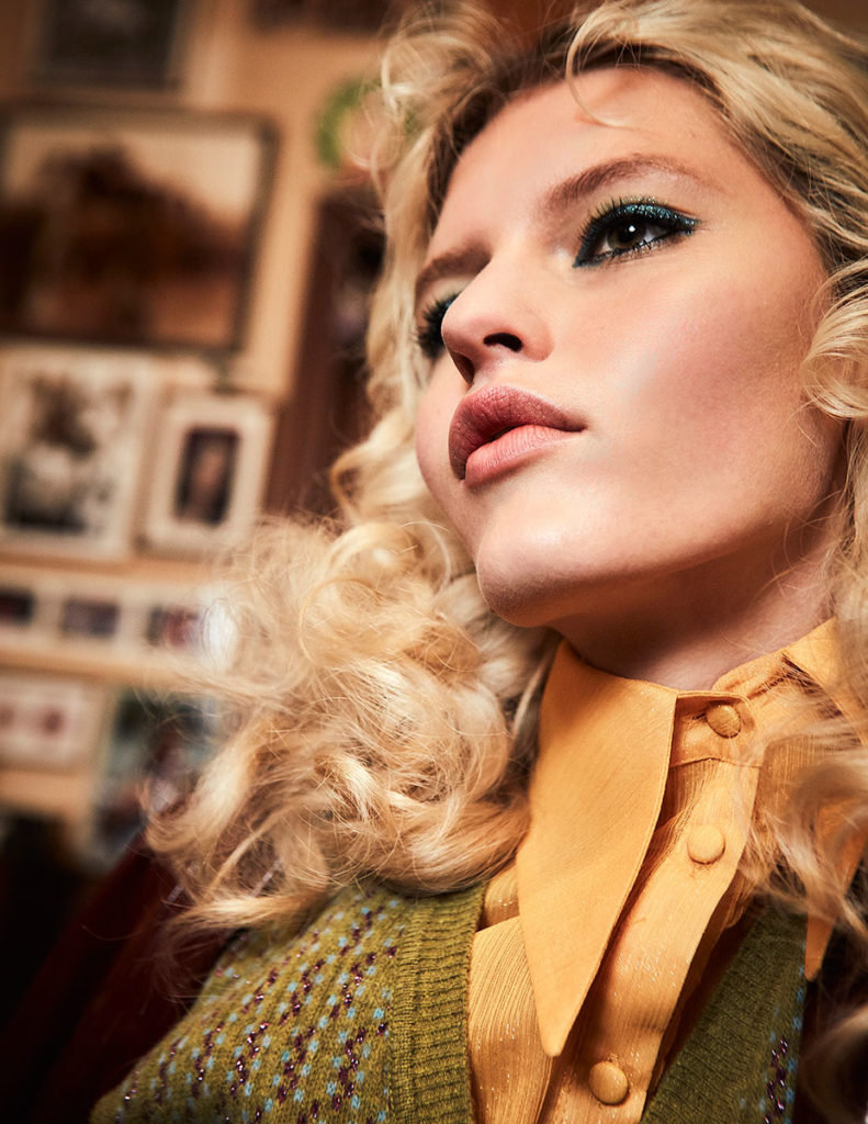 flanelle magazine - photographer chiiara romagnoli - styling micole basile - makeup Roman Gasser - hair Liv Holst - wm-artist management - w-mmanagement - milano