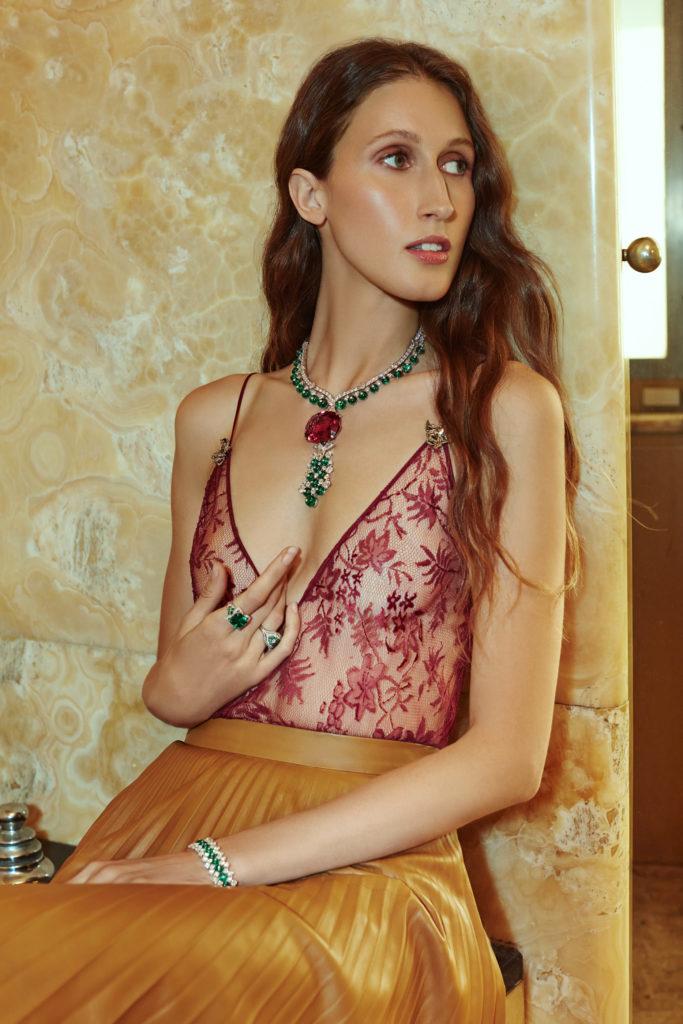 Marie claire brasil - bulgari - anna cleveland - photographer Alessandro Esposito - styling Francesca Ottaviani - hair Liv Holst - WM-Artist Management