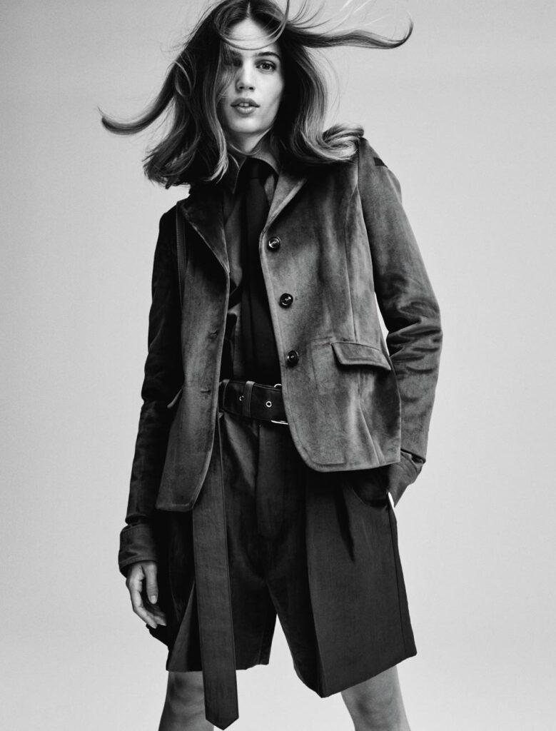 Io donna - photographer Nik Hartley - styling Alessandra Corvasce - hair Francesco Avolio - makeup Augusto Picerni - Wm-artist management - w-mmanagement - milano