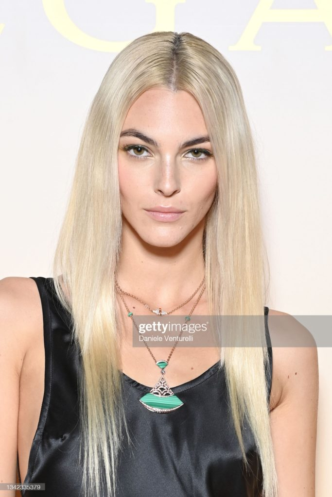Vittoria ceretti - bulgari - makeup Karin Borromeo - hair Francesco Avolio - wm-artist management - w-mmanagement - agency - Milano