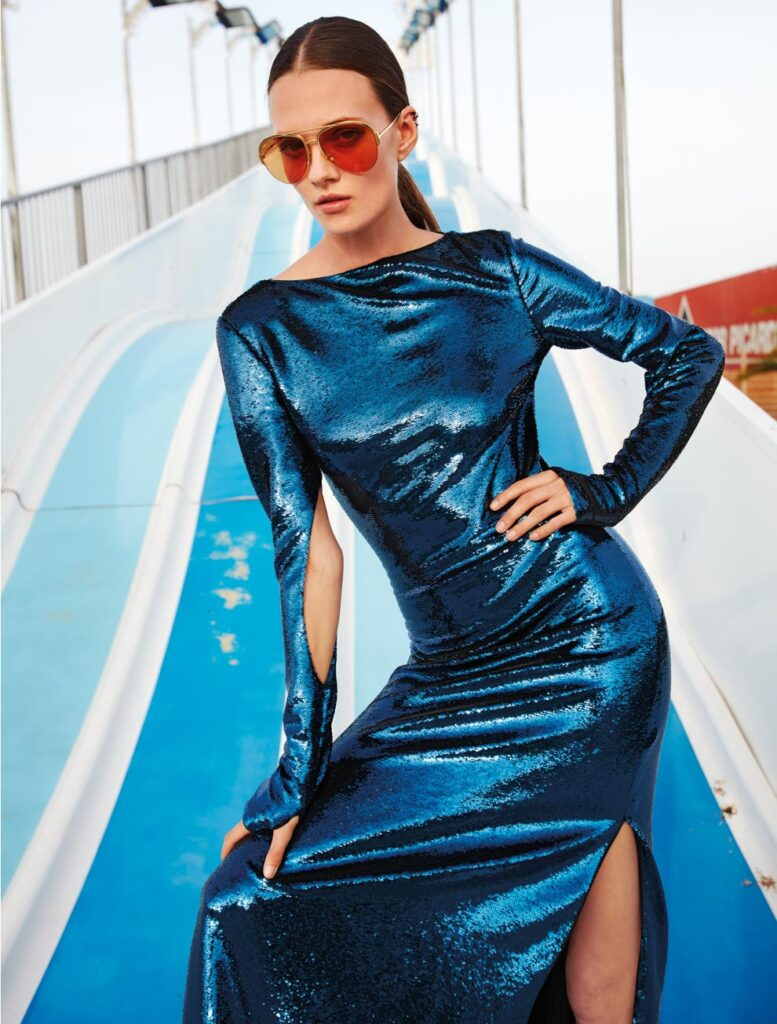 Io donna magazine - styling Alessandra Corvasce - photographer Riccardo Tinelli - hair - makeup Augusto Picerni - WM-Artist Management