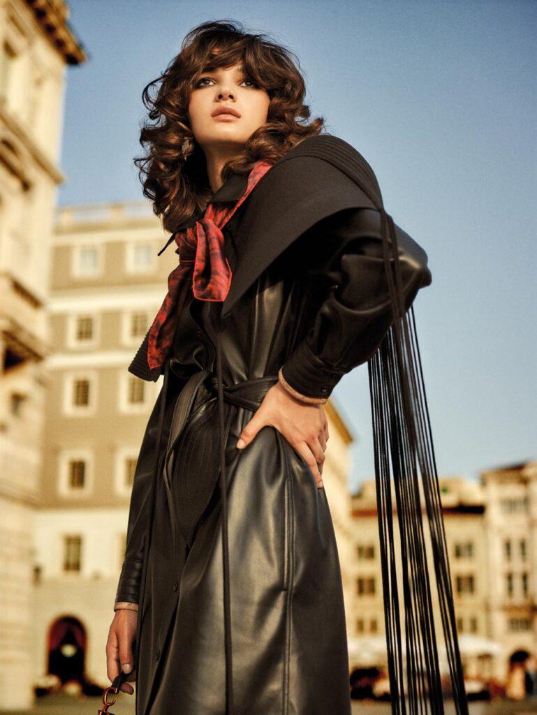 Io Donna - Photographer Jork Weismann - Stylist Ulrike Lang - Make Up Roman Gasser - hair Francesco Avolio - WM-Artist Management - W-MManagement