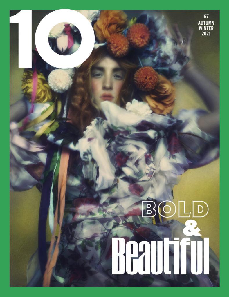 10 magazine - harris reed - photographer Rob Rusling - styling sophia neophitou - hair Massimo di stefano - wm-artist management