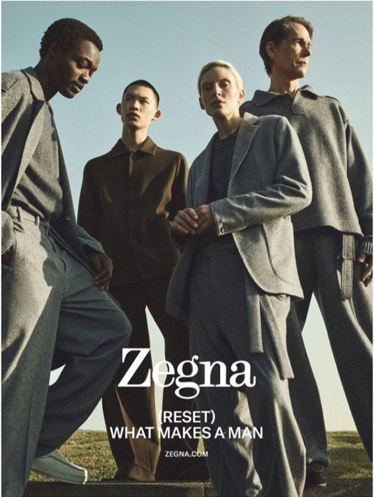 Zegna - fw21 - photographer Annemarieke Van Drimmelen - styling Julie Ragolia - makeup Giulio Panciera - WM-Artist Management